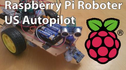 Raspberry Pi Roboter: Ultraschall Autopilot