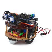 Raspberry Pi Roboter rundes Fahrgestell