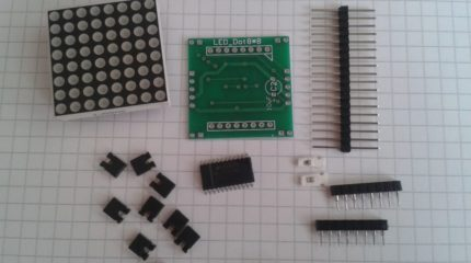 8×8 LED Dot Matrix Parts