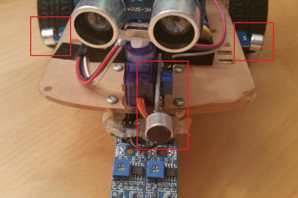Raspberry Pi Robot Sounddetection