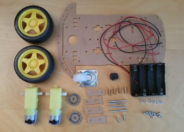 Raspberry Pi Roboter Bausatz Übersicht