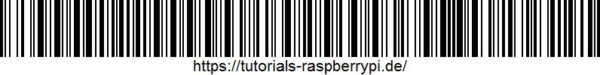 Raspberry Pi Tutorials Barcode