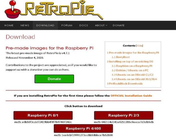 Gaming OS for the Raspberry Pi