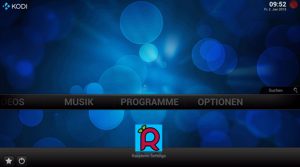 raspbmc_interface